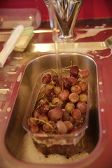 Grapes (Angela Chambers) Tags: red water kitchen fruit sink images grapes getty