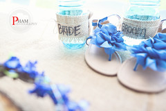 wedding shoes and cool cups (~Phamster~) Tags: flowers wedding decorations groom bride