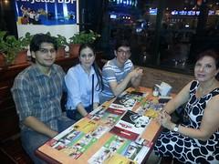 Cena en Papa John's