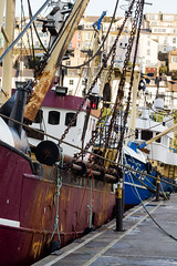 Moored Trawlers (njjarvis) Tags: port canon boat fishing harbour quay devon trawler brixham canonef50mmf18ii 60d
