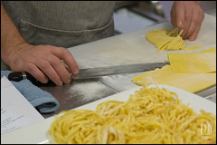 Chef Mike Easton - VUDE Sunday Supper at Heyday Farm (WordOfMouth) Tags: menu pasta bainbridgeisland tajarin vude mikeeaston heydayfarm ilcorvopasta velvetundergrounddiningexperience sundaysuppersonthefarm