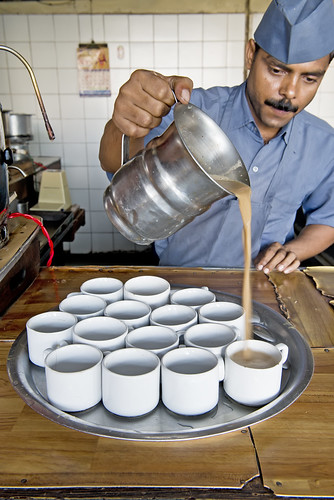 Indian Coffee House in New Delhi, India.