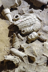 War and Pieces- Getty (JebbiePix) Tags: world china broken face wonder asian soldier site ruins asia head chinese east dirt xian clay warrior smashed oriental orient figurine terra eastern cotta archeology dig archeological