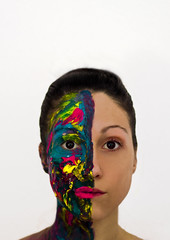 Soul colours (Laura Martnez Fotografa) Tags: me myself yo autoretrato soul aura pintura
