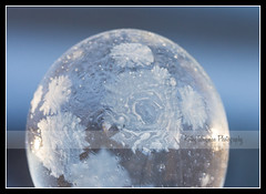 Frozen (SportMom42) Tags: winter snow cold ice wisconsin bubbles frosty 45 frozenbubbles windchills