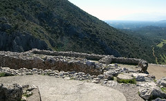 "View of ""Palace,"" Mycenae"