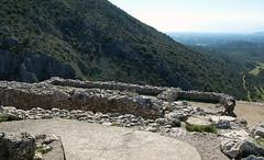 "View of ""Palace,"" Mycenae"