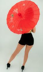 Nice red parasol (Alaskan Dude) Tags: alaska portraits women modeling models anchorage pinup photoshoots ellee greatalaskangroupphotoshoots
