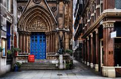 Open Sesame (Dimmilan) Tags: street door uk england urban building london church architecture cityscape oldarchitecture slicesoftime galleryoffantasticshots
