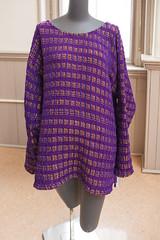 20140202__MG_4994_Yarn_To_Garment (Pat Kilkenny) Tags: ohio color wool fashion yarn fabric weaving weave oberlin garment 2014 oberlincollege 13thannual betsybruce yarntogarment