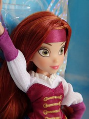 Zarina - The Pirate Fairy - Disney Fairies - Jakks Pacific - First Look - Deboxing - Attached to Backing - Portrait Left Front View (drj1828) Tags: us doll fairy target zarina purchase posable deboxing jakkspacific productinformation disneyfairies 9inch thepiratefairy