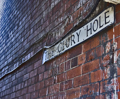 The glory hole (sshea71 Looking for inspiration!) Tags: street brick sign sex canon hole glory lincolnshire lincoln position gloryhole 60d {vision}:{outdoor}=0823