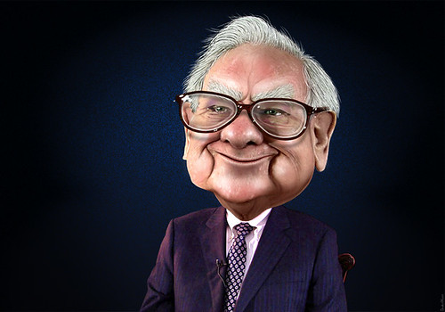 Warren Buffett - Caricature by DonkeyHotey, on Flickr