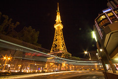 Nagoya tower (Shingo_216) Tags: city longexposure light tower japan cityscape nagoya aichi