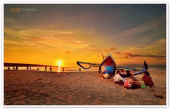 Jimbaran Beach Sunset (Vin PSK) Tags: bali indonesia landscape golden beachsunset jimbaran