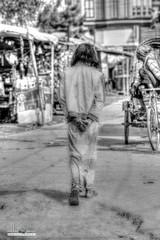 still walking .. (nabhan.zaman) Tags: portrait blackandwhite walking photography blackwhite asia exposure streetphotography dhaka bangladesh hdr nabhan nabhanzaman