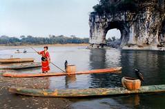 The Elephant Trunk Rock at Guilin , China (singingdaisy) Tags: china guilin loveit harmony finegold heartawards atouchofmagic mygearandme mygearandmepremium