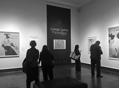 La Vie Moderne (tim.perdue) Tags: columbus people bw white black paris art monochrome museum french la gallery moderne toulouse figures vie cma lautrec