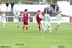 Arbroath 2 - 5 Celtic - Dayle Robertson turns and shoots (Scotsman_in_Hawaii) Tags: scotland celtic arbroath gayfield scottishfootball youthfootball lichties theredlichties arbroathfc smokiesandwine u19leaguecup
