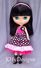 Pink and black polka dot awesomeness!