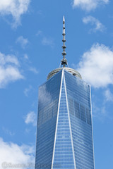 Freedom Tower In The Clouds (SamuelWalters74) Tags: newyorkcity manhattan worldtradecenter financialdistrict freedomtower 1worldtradecenter 1wtc oneworldtradecenter