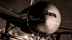 Mighty T7 (360 Photography) Tags: plane airplane montreal aviation boeing dorval avion yul aircanada 2014 744 b777 140124 mathieupouliot