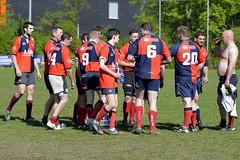 E4L05585 Amstelveen ARC v Cranleigh RFC, Halftime (KevinScott.Org) Tags: england amsterdam rugby arc rc amstelveen 2014 kevinscott kevinscottorg cranleighrfc