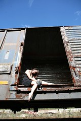 Box Car (John Barrie Photography) Tags: modeling boxcar ttd trashthedress johnbarriephotography velocityphotography