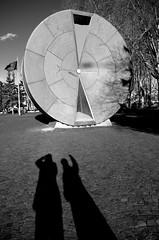 Clessidra (damar47) Tags: shadow urban me monument monochrome blackwhite shadows pentax ombra budapest monochromatic ombre io urbanart biancoenero pentaxk30