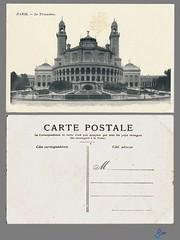PARIS - Le Trocadero (bDom) Tags: paris 1900 oldpostcard cartepostale bdom
