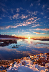 _64A7468_Rodin (Ed Boudreau) Tags: winter sunset mountain water alaska landscape sunsetclouds turnagainarm sewardhighway alaskasunset alaskalandscape