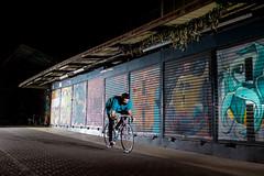 Me riding (EsteveSegura) Tags: street sport photography amazing flash fixed fixie fixedgear extrem freshy strobist