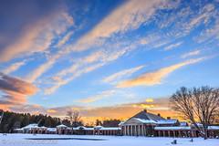 Sunset at Saratoga Spa State Park (Samantha Decker) Tags: sunset ny newyork upstate saratogasprings uwa hallofsprings saratogaspastatepark canonef1635mmf28liiusm canoneos6d samanthadecker