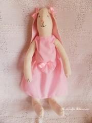 ♥ Coelhinha Leonor ♥ (AnnCrafts Artesanato) Tags: bunny handmade bebé boneca tilda decoração almofada handmadedoll alfazema coelha acessóriosdebebé anncraftsdesign anndolls produtosbebé