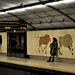 Lisboa - Metro station Campo Pequeno