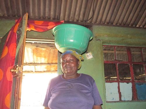 Visite de la famille, Nakuru, Kenya