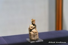 Statuette of King Khufu (konde) Tags: art ancient ivory statuette khufu redcrown abydos oldkingdom 4thdynasty