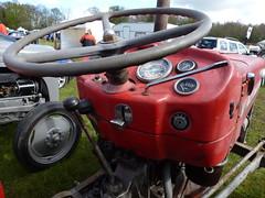 Massey Ferguson 135 Multi-Power (K Garrett) Tags: tractor logo badge mf masseyferguson masseyferguson135 emblym