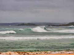 Rough Sea I (elphweb) Tags: ocean sea seaside waves bigwaves roughsea bigocean falsehdr