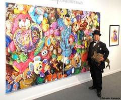 Dr. Takeshi Yamada and Seara (Coney Island Sea Rabboit) visited the Art NY at the Pier 94 in Manhattan, NY on May 3, 2016.  20160503Tue DSCN5508=4030pC. artwork by Brent Estabrook (searabbits23) Tags: ny newyork sexy celebrity rabbit art hat fashion animal brooklyn asian coneyisland japanese star tv google king artist dragon god vampire manhattan famous gothic goth uma ufo pop taxidermy vogue cnn tuxedo bikini tophat unitednations playboy entertainer oddities genius mermaid amc mardigras salvadordali performer unicorn billclinton seamonster billgates aol vangogh curiosities sideshow jeffkoons globalwarming mart magician takashimurakami pablopicasso steampunk damienhirst cryptozoology freakshow leonardodavinci seara immortalized pier94 takeshiyamada roguetaxidermy searabbit barrackobama artny ladygaga climategate  manwithrabbit