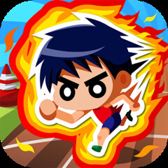 Track Sprinter - Android & iOS apps - Free (jpappsdl) Tags: world sports japan speed japanese moss athletics track free run right screen record mistake easy tap left ios increase android apps 100m sprinter sportsgame tracksprinter