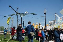 DSC00792 (Break Free Midwest) Tags: march midwest break protest free 350 bp whiting breakfree 350org breakfree2016
