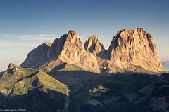 Sassolungo baciato dal sole (cesco.pb) Tags: italy mountains alps sunrise canon dawn italia alba alpi montagna trentino dolomites dolomiti dolomiten sassolungo passopordoi trentinoaltoadige canoneos60d tamronsp1750mmf28xrdiiivcld