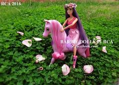 Barbie Endless Hair Kingdom Princess Doll (Barbie dolls by RCA) Tags: hair doll purple princess body barbie style kingdom endless 2016