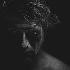 Dark Portrait 1 (Jyrki Salmi) Tags: portrait dark nikon nikkor jyrki 2880mm d600 salmi