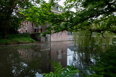 Slot Zeist reflections (PaulHoo) Tags: holland reflection building tree green castle water netherlands architecture lumix spring slot zeist lightroom 2016
