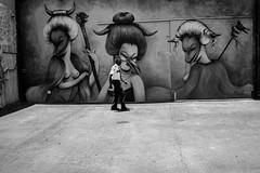 Caricatures (35mmStreets.com) Tags: street city portrait urban bw 35mm photography blackwhite nikon df little florida miami sony havana kittens d750 nik southbeach dsc sobe lightroom washingtonstreet d600 collinsave d4s silverefex 35mmstreets rx1rm2