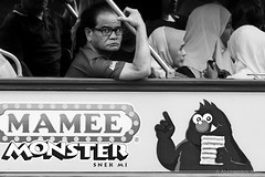 Malacca (ale neri) Tags: street portrait people blackandwhite bw monster asian monocromo streetphotography malaysia melaka malacca aleneri alessandroneri