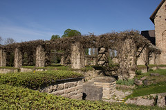 Vreta kloster (Yvonne L Sweden) Tags: spring sweden ruin may linkping pergola vr vretakloster klosterruin