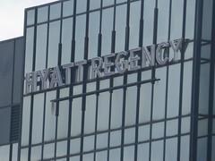 Views from the Secret Garden - Hyatt Regency - sign (ell brown) Tags: greatbritain england sign garden birmingham unitedkingdom balcony westmidlands secretgarden mecanoo broadst hyattregency centenarysquare hyatthotel mecanooarchitecten libraryofbirmingham thelibraryofbirmingham loblevel7